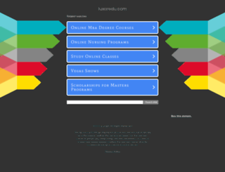 luxoredu.com screenshot