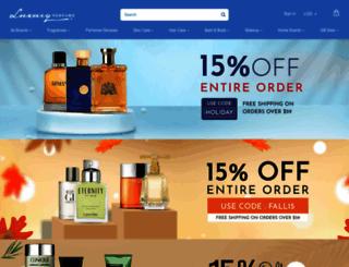 luxuryperfume.com screenshot
