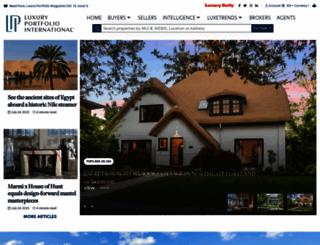 luxuryportfolio.com screenshot