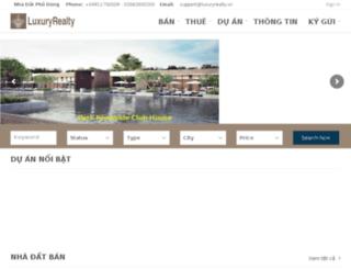 luxuryrealty.vn screenshot