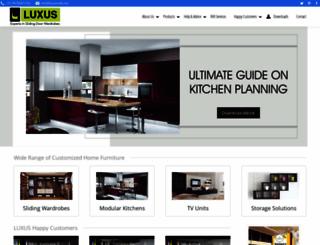 luxus-india.com screenshot