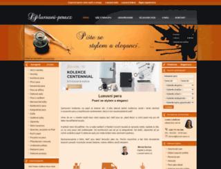 luxusni-pera.cz screenshot