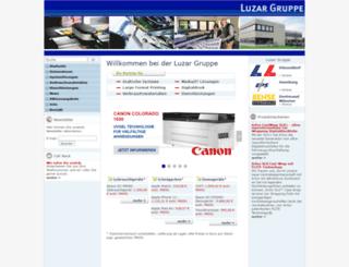 luzargruppe.de screenshot