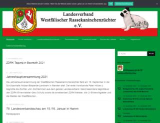 lv-westfalen.de screenshot