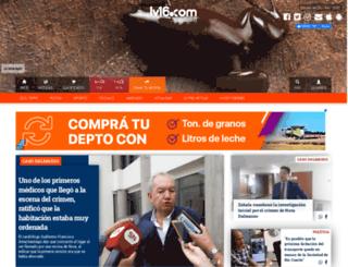 lv16.com.ar screenshot