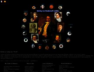 lvbeethoven.com screenshot