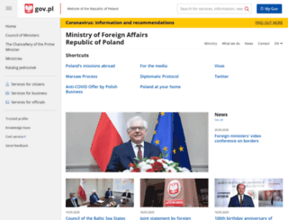 lviv.mfa.gov.pl screenshot