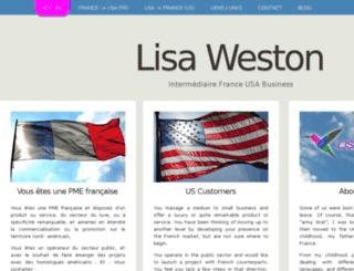 lweston.fr screenshot