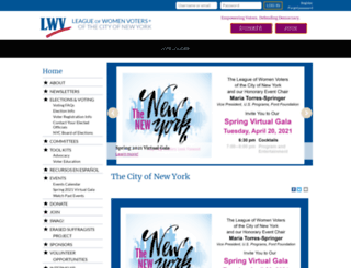 lwvnyc.org screenshot