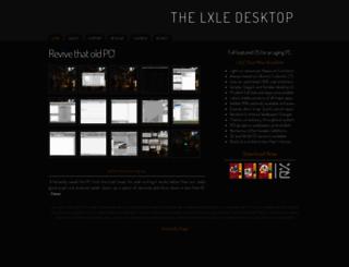 lxle.net screenshot
