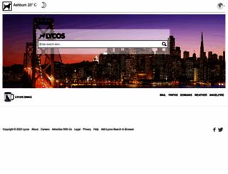 lycos.co.uk screenshot