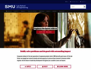lyle.smu.edu screenshot