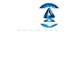 lyman-alpha.tumblr.com screenshot