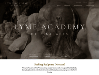 lymeacademy.edu screenshot
