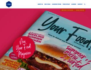 lynasfoodservice.com screenshot