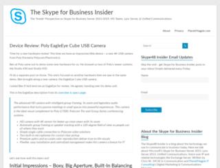 lyncinsider.com screenshot