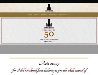 lynnwoodbaptistchurch.co.za screenshot
