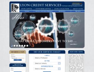 lyoncredit.com screenshot