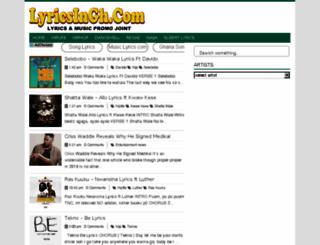 lyricsingh.com screenshot