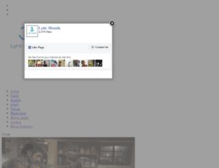 lyricwoods.com screenshot