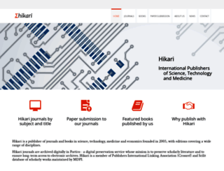 m-hikari.com screenshot