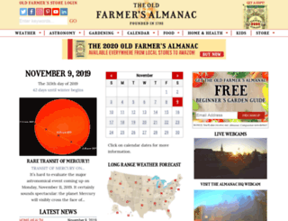 m.almanac.com screenshot