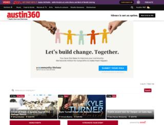 m.austin360.com screenshot