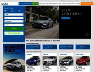 m.automart.co.za screenshot