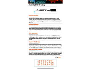 m.auwebdir.com screenshot
