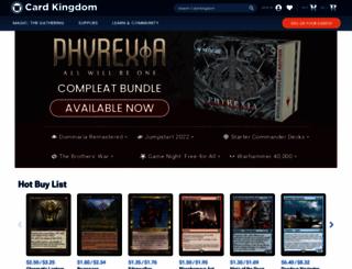 m.cardkingdom.com screenshot
