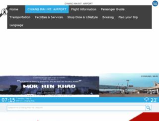 m.chiangmaiairportthai.com screenshot
