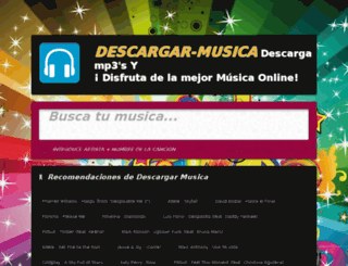 m.descargar-musica.org screenshot