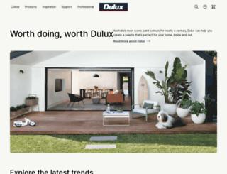 m.dulux.com.au screenshot
