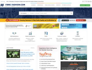 m.fibre2fashion.com screenshot