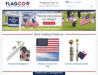 m.flagco.com screenshot
