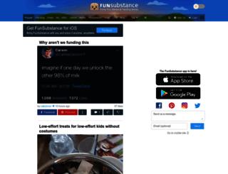 m.funsubstance.com screenshot