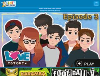 m.gamesantigalau.com screenshot