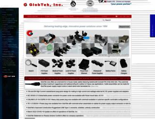 m.globtek.com screenshot