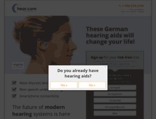 m.hear.com screenshot