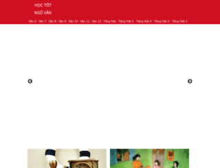 m.hoctotnguvan.net screenshot