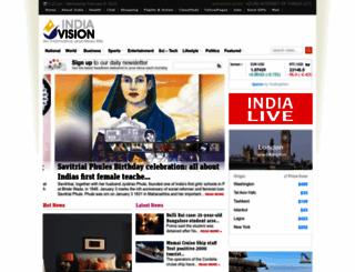 m.indiavision.com screenshot