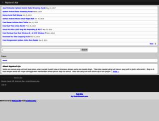 m.khairilinsani.com screenshot