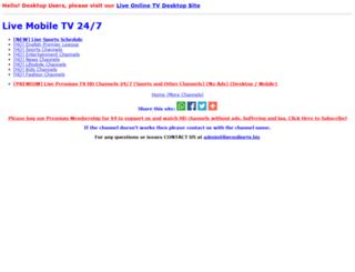 m.liveonlinetv247.com screenshot
