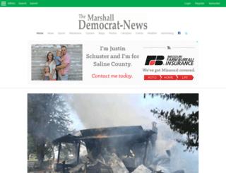 m.marshallnews.com screenshot