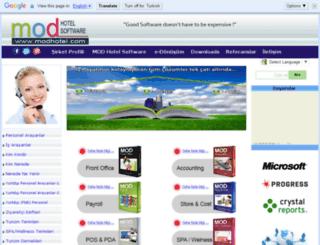m.modhotel.com screenshot