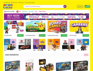 m.mrtoys.com.au screenshot