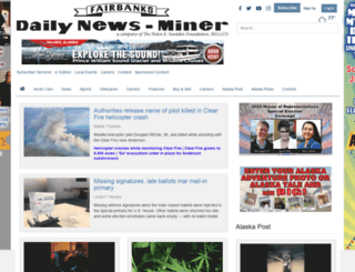 m.newsminer.com screenshot