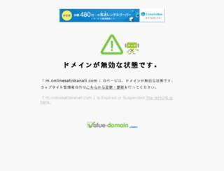 m.onlinesatiskanali.com screenshot