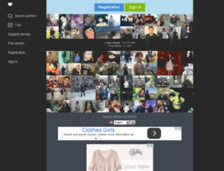 m.pavlohradgirls.com screenshot