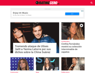 Access ratingcero noticias del espect culo for Noticias actuales del espectaculo
